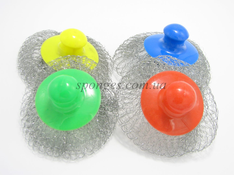 Скребки для посуды с пластиковой ручкой