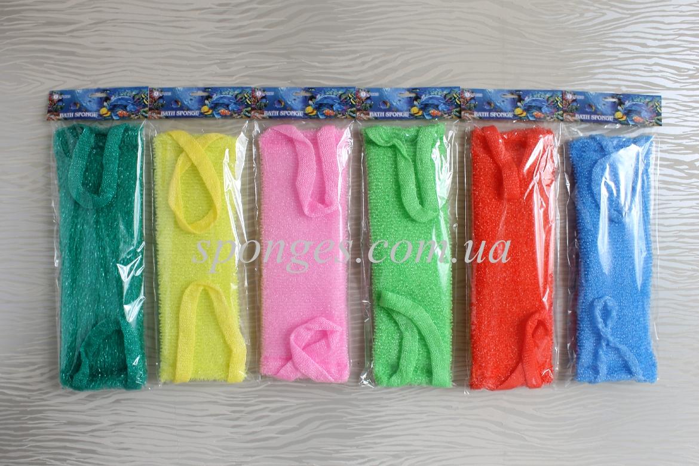 Мочалки полипропиленовые в индивидуальной упаковке